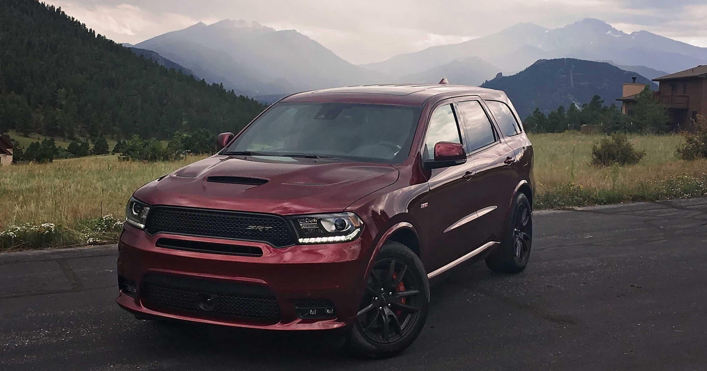 2018 Dodge Durango Srt Review Most Powerful 3rd Row Suv